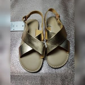 NWT Cat & Jack Girls Sandals Shoes Gail Footbed